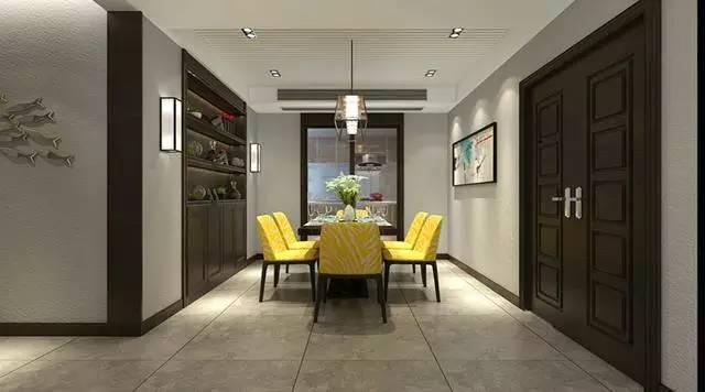 三室两厅现代简约风格装修案例 形式至功能的完美构思!