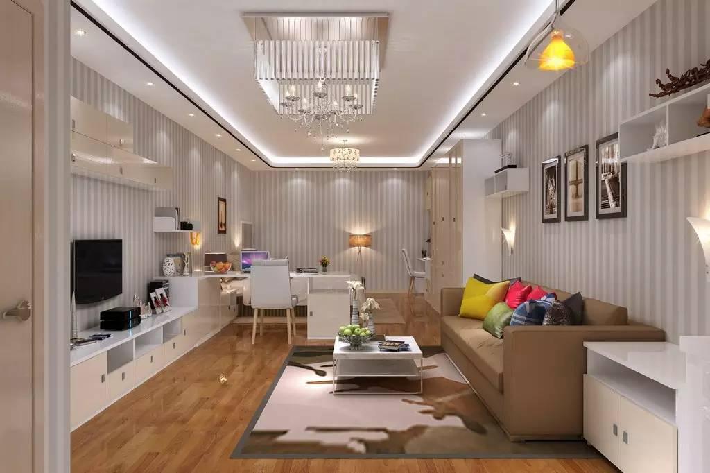 【家装】客厅=沙发+茶几+电视柜?out了,看看人家的客厅吧 客厅,组合,电视柜,会客,茶几 第2张图片