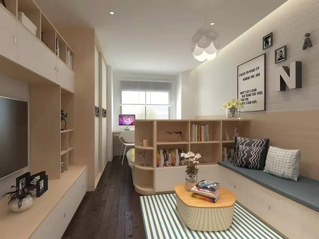 【家装】客厅=沙发+茶几+电视柜?out了,看看人家的客厅吧 客厅,组合,电视柜,会客,茶几 第3张图片