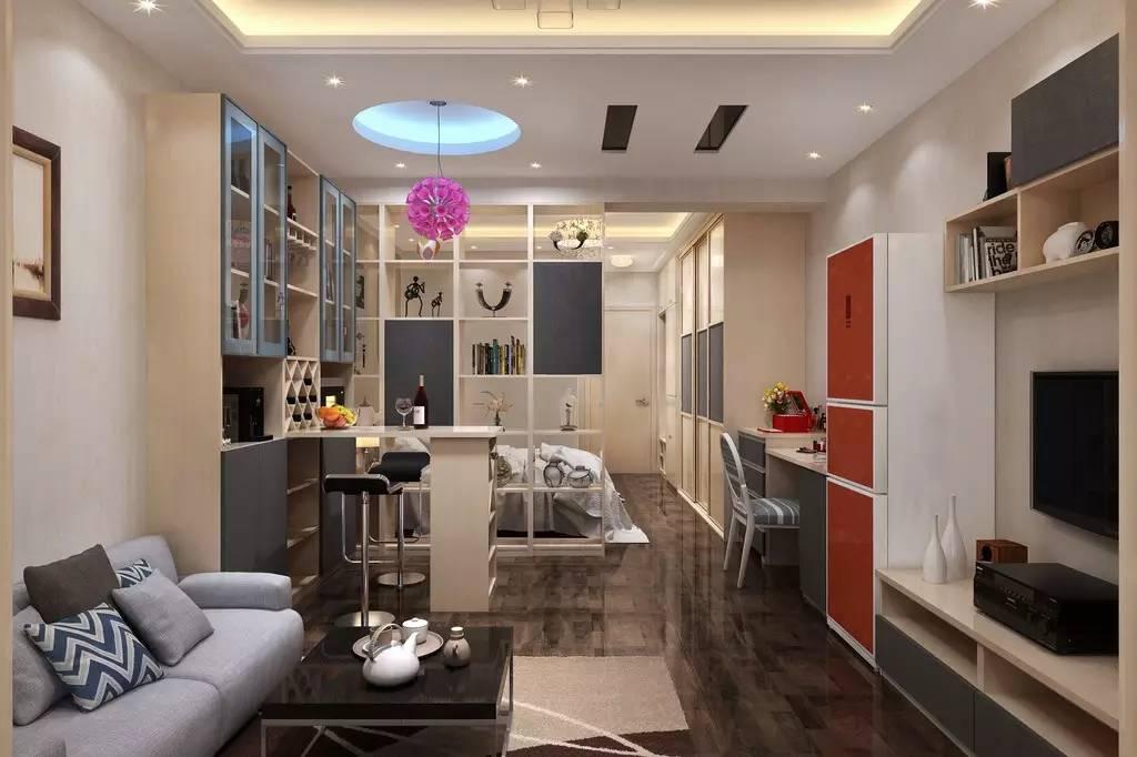 【家装】客厅=沙发+茶几+电视柜?out了,看看人家的客厅吧 客厅,组合,电视柜,会客,茶几 第10张图片