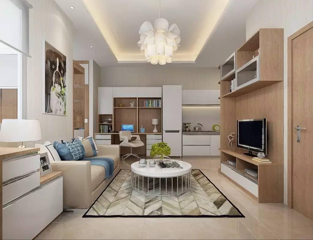 【家装】客厅=沙发+茶几+电视柜?out了,看看人家的客厅吧 客厅,组合,电视柜,会客,茶几 第13张图片