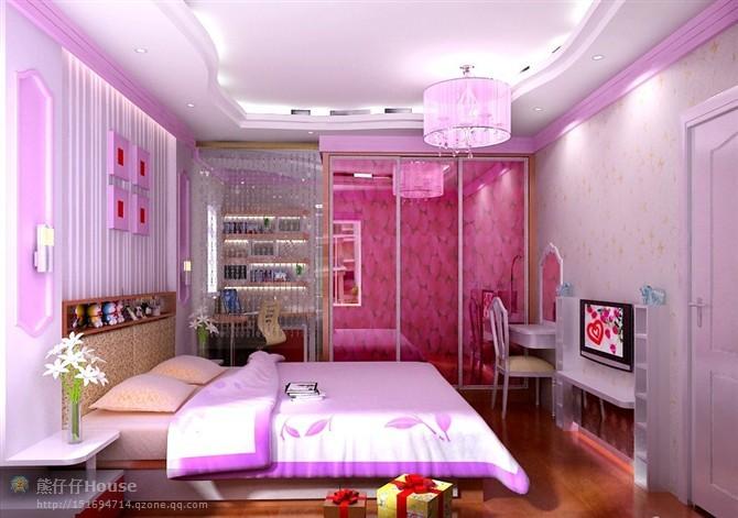 【家装】这样的卧室,哪个女人不想要?太漂亮了 漂亮,指纹,家装,下方,卧室 第6张图片