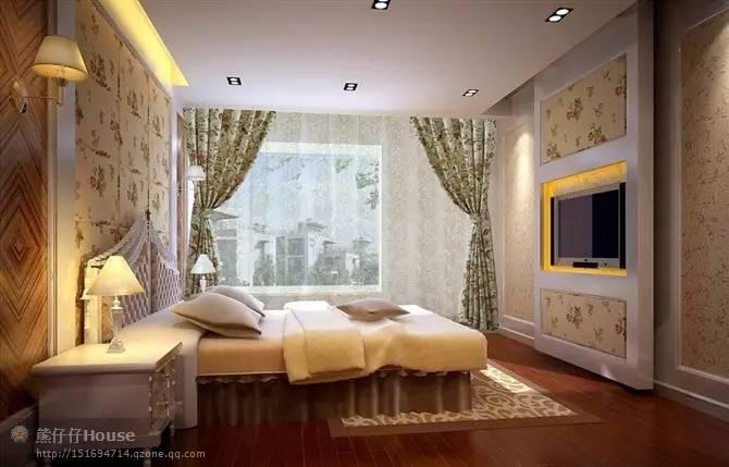 【家装】这样的卧室,哪个女人不想要?太漂亮了 漂亮,指纹,家装,下方,卧室 第9张图片