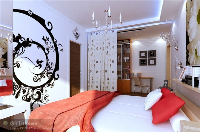 【家装】这样的卧室,哪个女人不想要?太漂亮了 漂亮,指纹,家装,下方,卧室 第8张图片