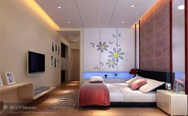 【家装】这样的卧室,哪个女人不想要?太漂亮了 漂亮,指纹,家装,下方,卧室 第11张图片