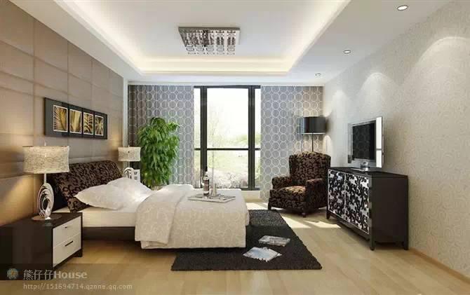 【家装】这样的卧室,哪个女人不想要?太漂亮了 漂亮,指纹,家装,下方,卧室 第13张图片