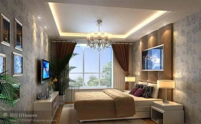 【家装】这样的卧室,哪个女人不想要?太漂亮了 漂亮,指纹,家装,下方,卧室 第18张图片