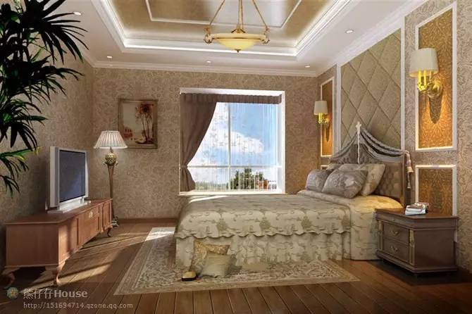 【家装】这样的卧室,哪个女人不想要?太漂亮了 漂亮,指纹,家装,下方,卧室 第19张图片