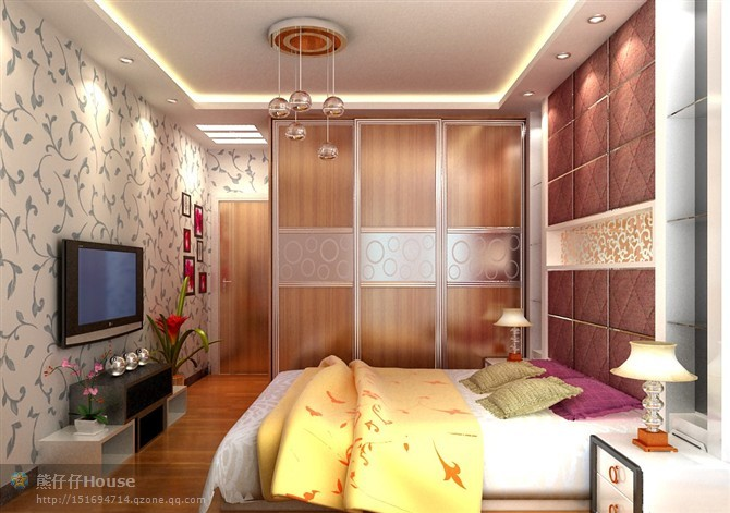 【家装】这样的卧室,哪个女人不想要?太漂亮了 漂亮,指纹,家装,下方,卧室 第25张图片