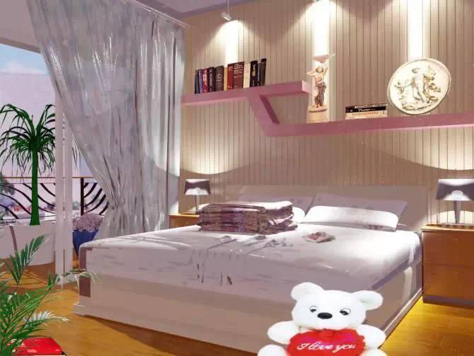 【家装】这样的卧室,哪个女人不想要?太漂亮了 漂亮,指纹,家装,下方,卧室 第28张图片