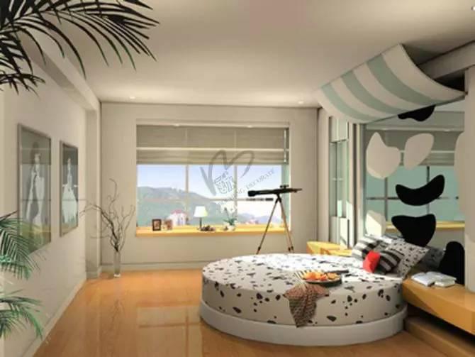 【家装】这样的卧室,哪个女人不想要?太漂亮了 家装,这样,卧室,哪个,女人 第31张图片