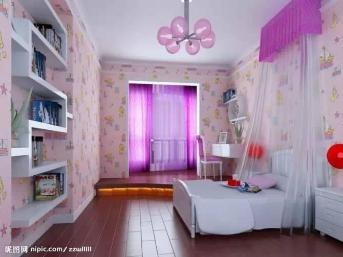 【家装】这样的卧室,哪个女人不想要?太漂亮了 家装,这样,卧室,哪个,女人 第35张图片