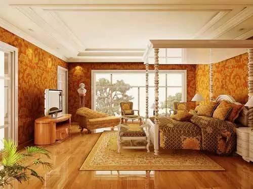 【家装】这样的卧室,哪个女人不想要?太漂亮了 漂亮,指纹,家装,下方,卧室 第40张图片