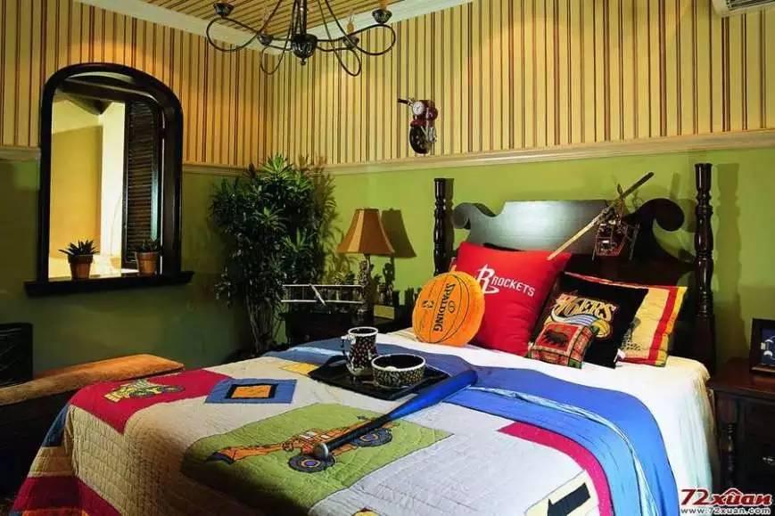 【家装】这样的卧室,哪个女人不想要?太漂亮了 漂亮,指纹,家装,下方,卧室 第49张图片