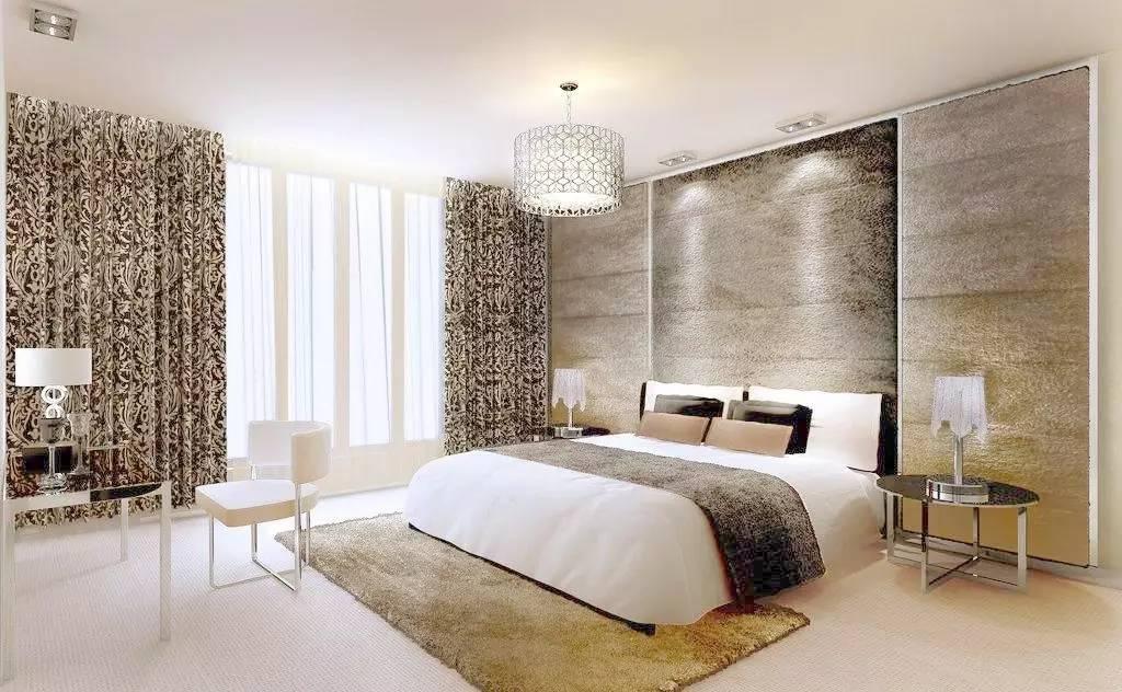 这样的卧室装修想不赖床都难! 卧室,设计,可以,复古,优雅 第5张图片
