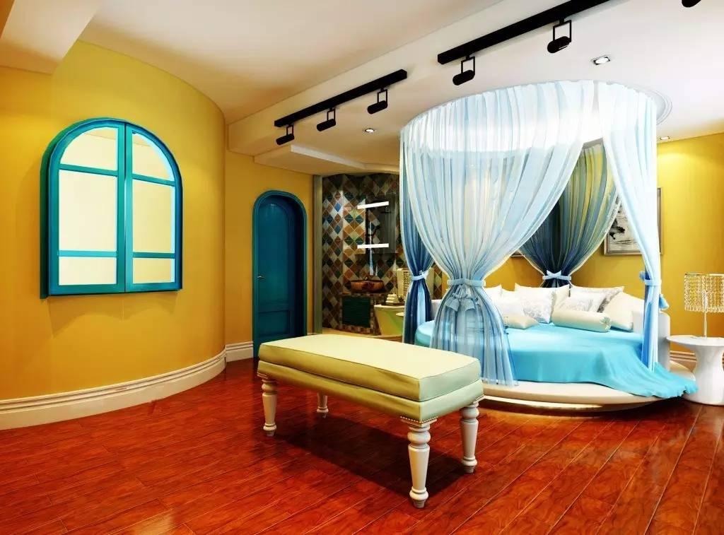 这样的卧室装修想不赖床都难! 卧室,设计,可以,复古,优雅 第9张图片