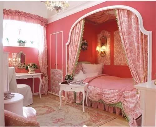 这样的卧室装修想不赖床都难! 卧室,设计,可以,复古,优雅 第10张图片