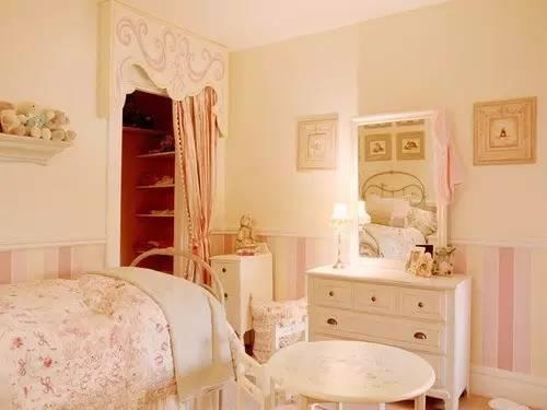 这样的卧室装修想不赖床都难! 卧室,设计,可以,复古,优雅 第13张图片