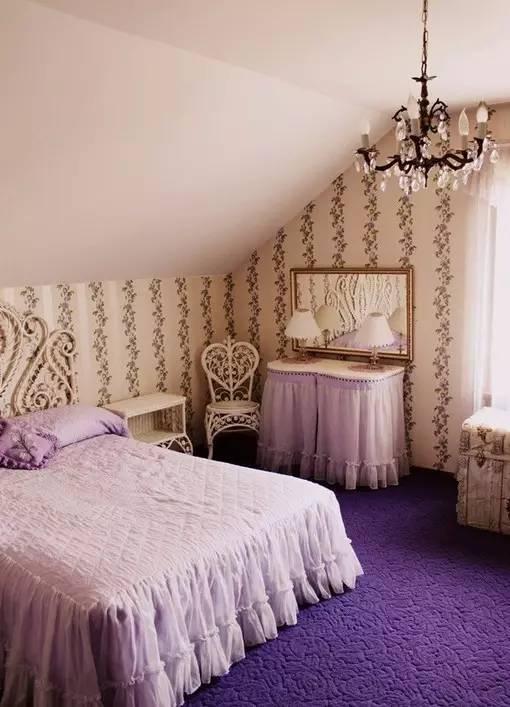这样的卧室装修想不赖床都难! 卧室,设计,可以,复古,优雅 第12张图片
