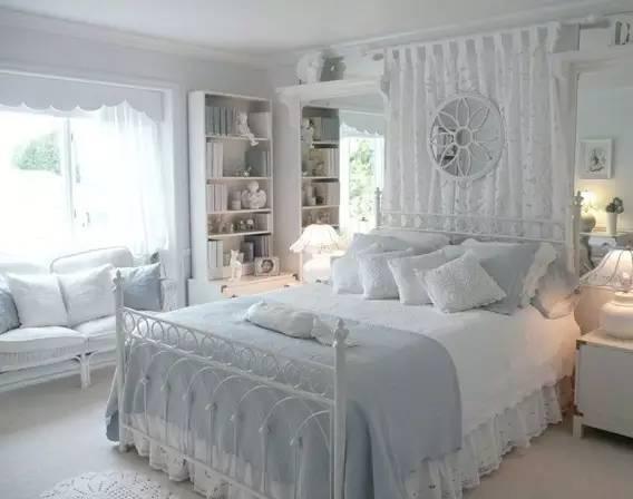 这样的卧室装修想不赖床都难! 卧室,设计,可以,复古,优雅 第15张图片
