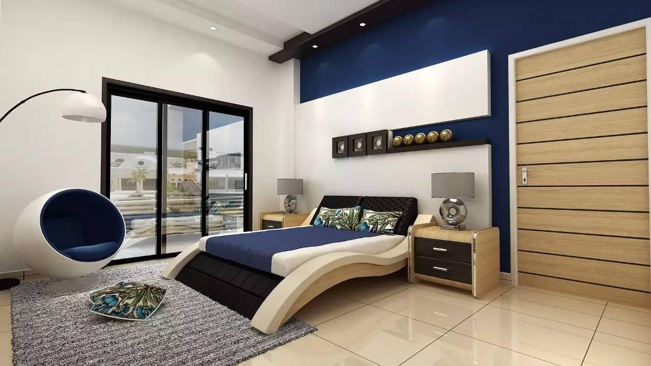 这样的卧室装修想不赖床都难! 卧室,设计,可以,复古,优雅 第19张图片