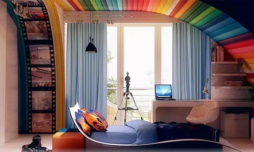 这样的卧室装修想不赖床都难! 卧室,设计,可以,复古,优雅 第20张图片