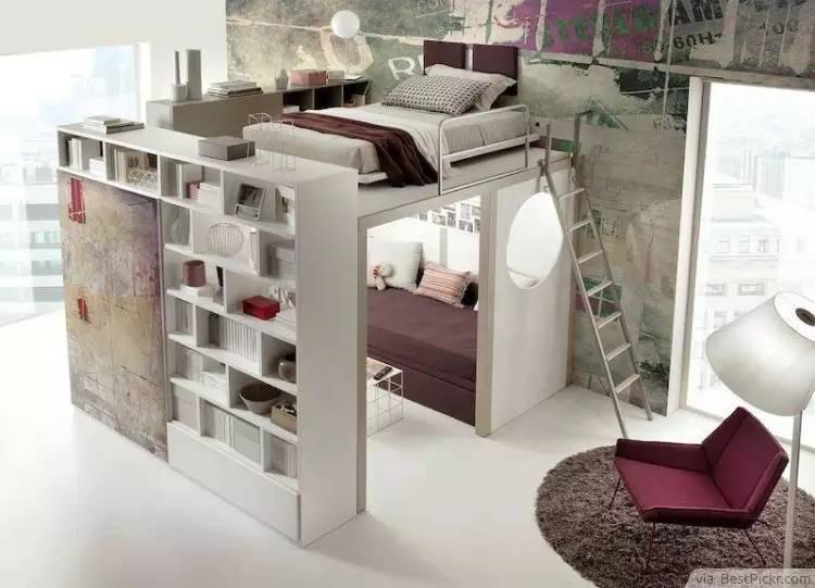 这样的卧室装修想不赖床都难! 卧室,设计,可以,复古,优雅 第22张图片