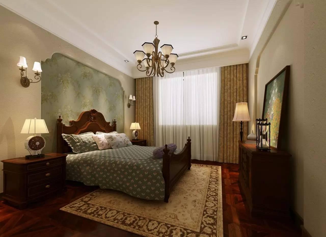 这样的卧室装修想不赖床都难! 卧室,设计,可以,复古,优雅 第26张图片