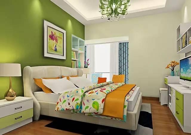 这样装修卧室,比5星级酒店还舒适 卧室,挂画,床头柜,高度,屏幕 第7张图片