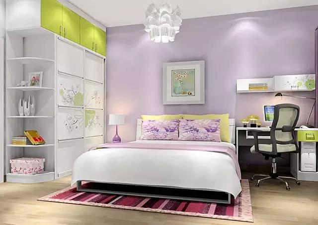 这样装修卧室,比5星级酒店还舒适 卧室,挂画,床头柜,高度,屏幕 第2张图片