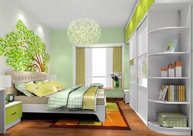 这样装修卧室,比5星级酒店还舒适 卧室,挂画,床头柜,高度,屏幕 第3张图片