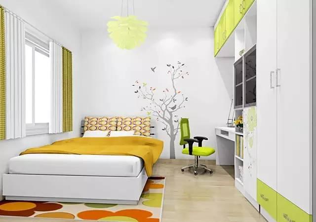 这样装修卧室,比5星级酒店还舒适 卧室,挂画,床头柜,高度,屏幕 第1张图片