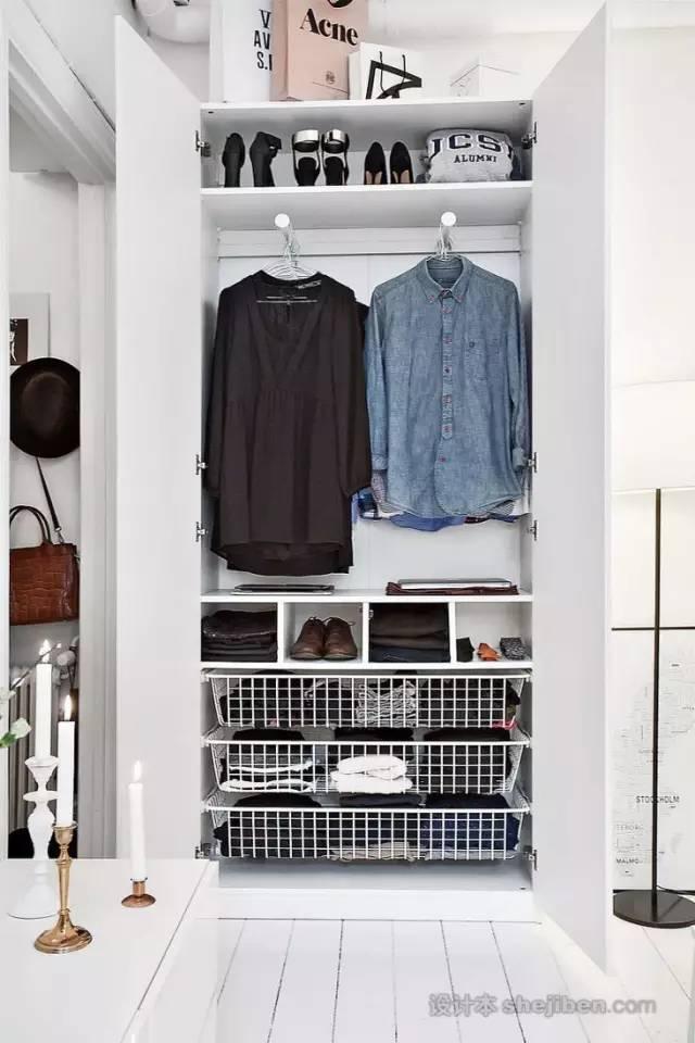 【家装】衣柜这么设计,好看又实用! 衣柜,这么,设计,好看,实用 第2张图片