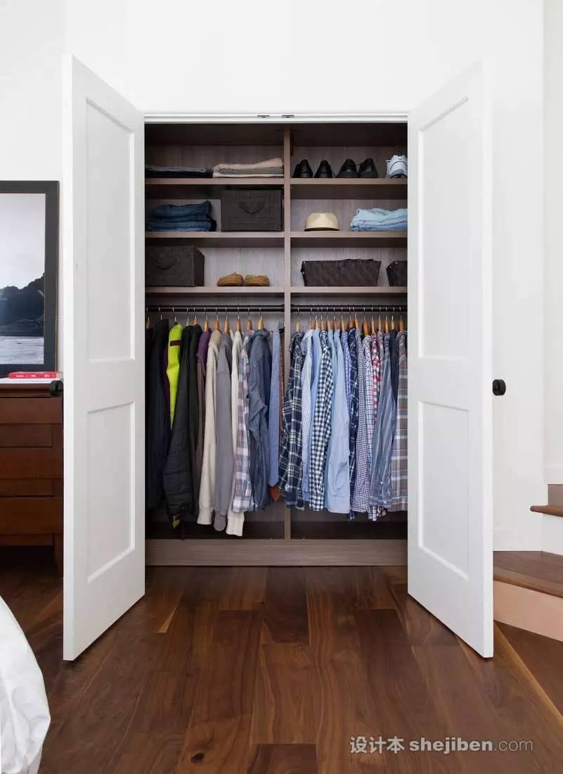 【家装】衣柜这么设计,好看又实用! 衣柜,这么,设计,好看,实用 第6张图片