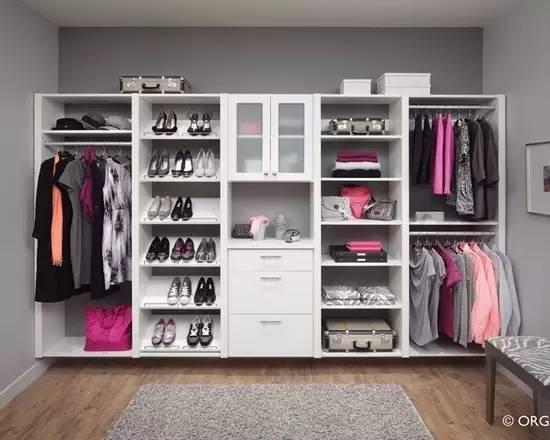 【家装】衣柜这么设计,好看又实用! 衣柜,这么,设计,好看,实用 第7张图片