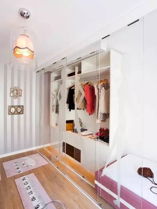 【家装】衣柜这么设计,好看又实用! 衣柜,这么,设计,好看,实用 第8张图片