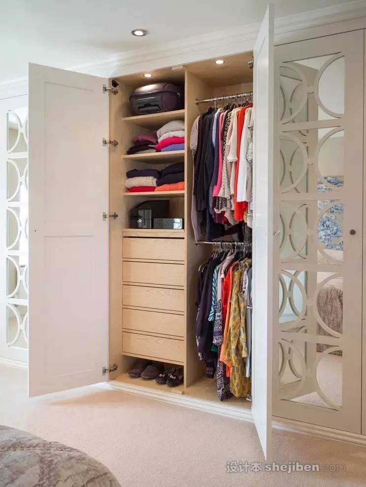 【家装】衣柜这么设计,好看又实用! 衣柜,这么,设计,好看,实用 第13张图片