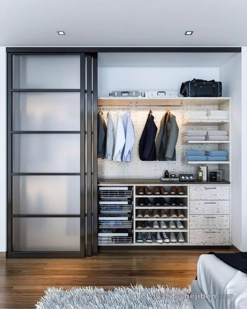 【家装】衣柜这么设计,好看又实用! 衣柜,这么,设计,好看,实用 第11张图片