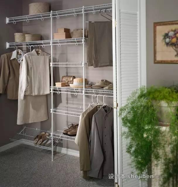 【家装】衣柜这么设计,好看又实用! 衣柜,这么,设计,好看,实用 第15张图片