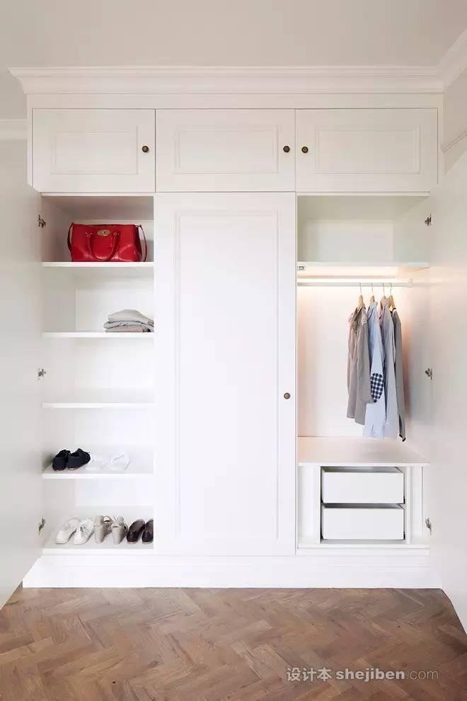 【家装】衣柜这么设计,好看又实用! 衣柜,这么,设计,好看,实用 第17张图片