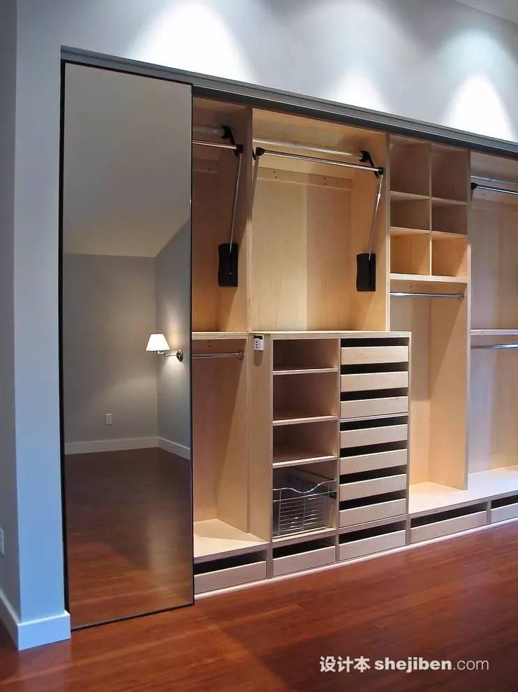 【家装】衣柜这么设计,好看又实用! 衣柜,这么,设计,好看,实用 第20张图片