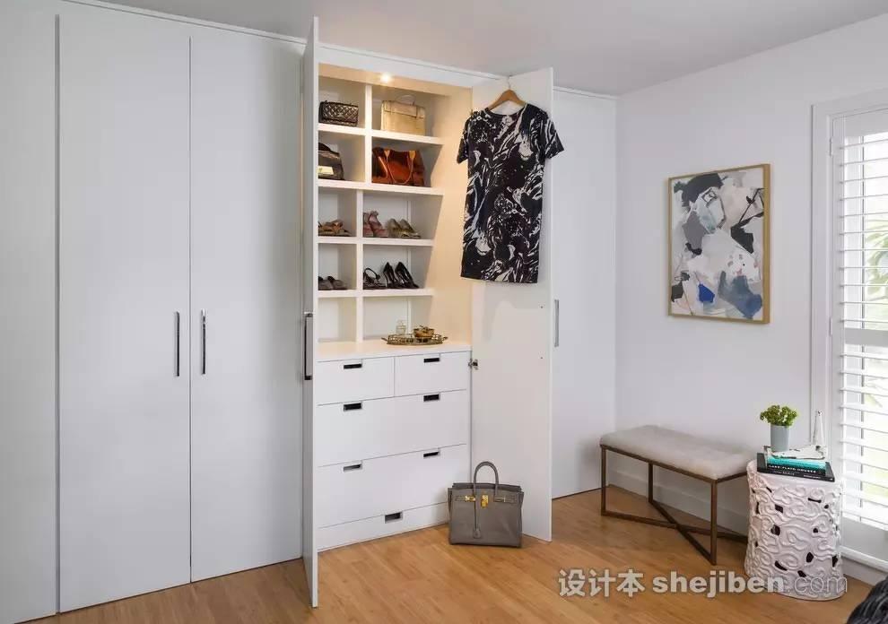 【家装】衣柜这么设计,好看又实用! 衣柜,这么,设计,好看,实用 第21张图片
