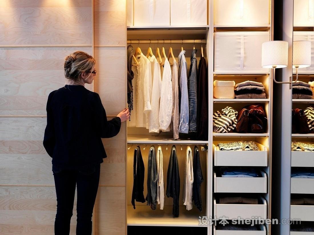 【家装】衣柜这么设计,好看又实用! 衣柜,这么,设计,好看,实用 第23张图片