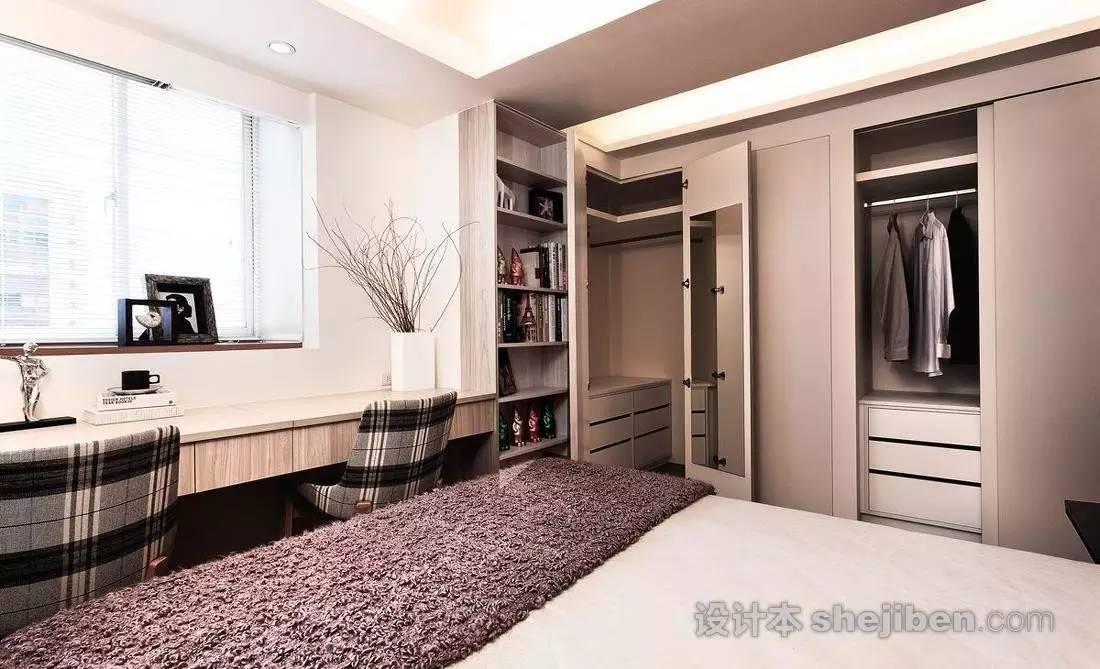 【家装】衣柜这么设计,好看又实用! 衣柜,这么,设计,好看,实用 第25张图片