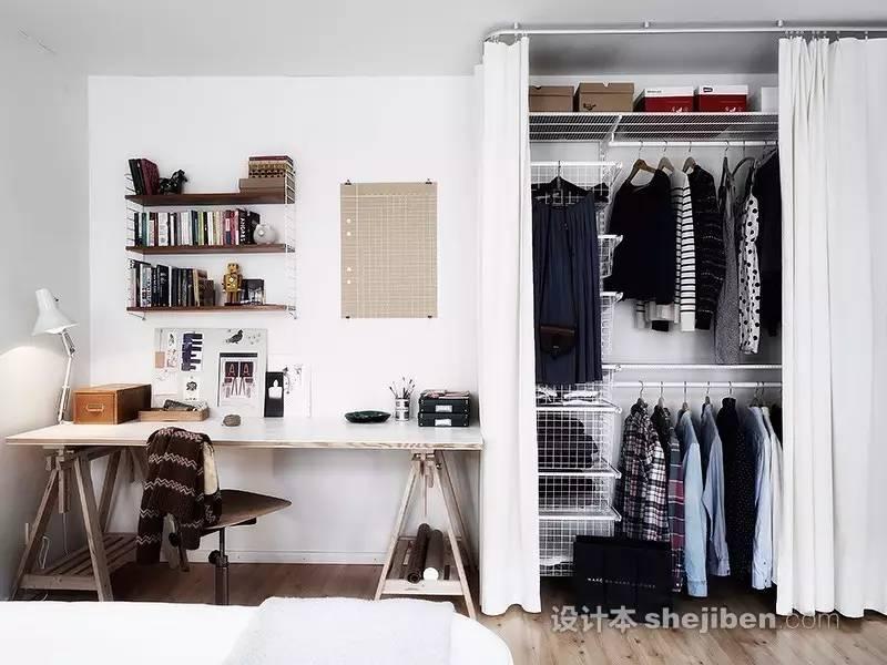 【家装】衣柜这么设计,好看又实用! 衣柜,这么,设计,好看,实用 第27张图片