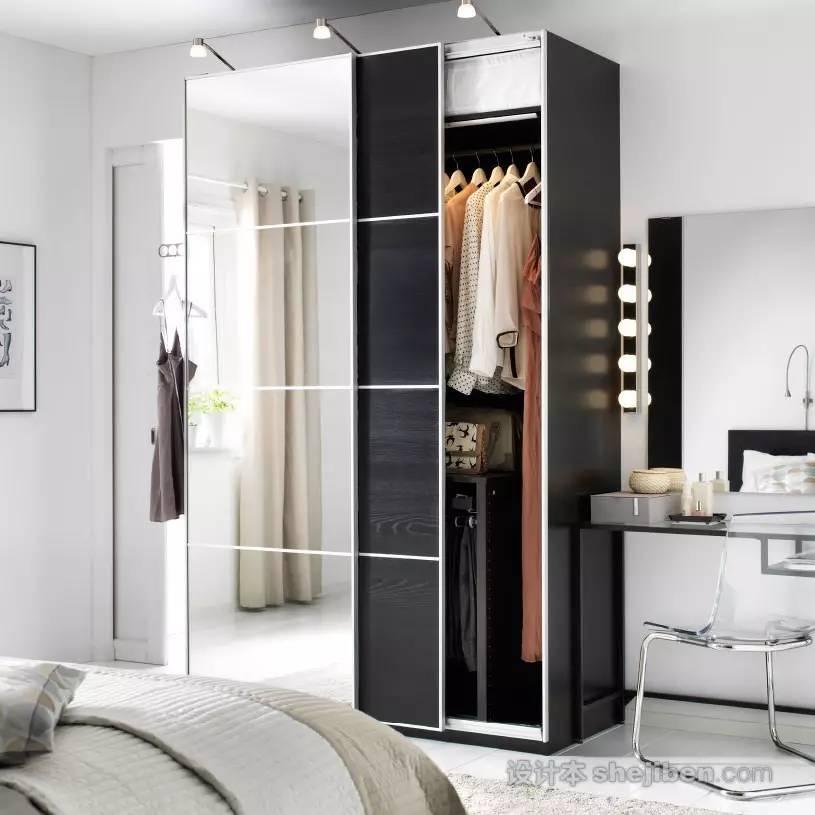 【家装】衣柜这么设计,好看又实用! 衣柜,这么,设计,好看,实用 第31张图片