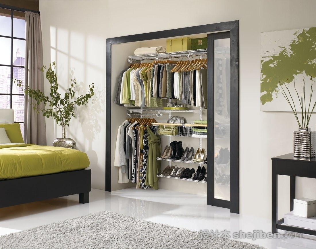 【家装】衣柜这么设计,好看又实用! 衣柜,这么,设计,好看,实用 第32张图片
