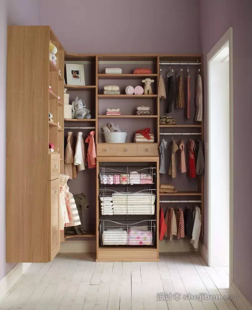 【家装】衣柜这么设计,好看又实用! 衣柜,这么,设计,好看,实用 第36张图片