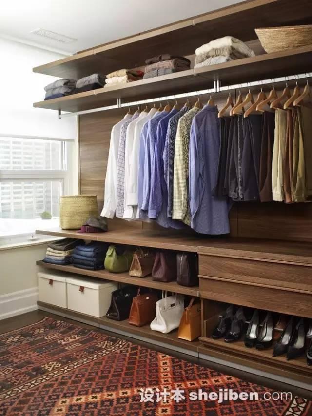 【家装】衣柜这么设计,好看又实用! 衣柜,这么,设计,好看,实用 第39张图片