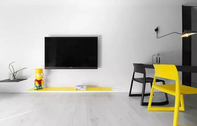 【家装日记】这些好看的背景墙 让你看电视都分心! 背景,电视,电视墙,隔板,简单 第6张图片